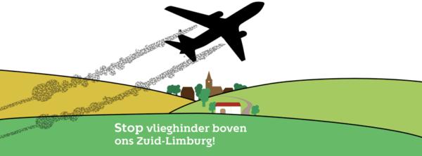 Stop vlieghinder boven ons Zuid-Limburg!